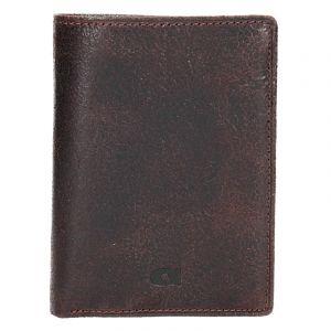 Pánská kožená peněženka Daag Wanted 22 – tmavě hnědá 1175