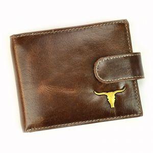 Pánská kožená peněženka Wild Buffalo Emils – hnědá 19488