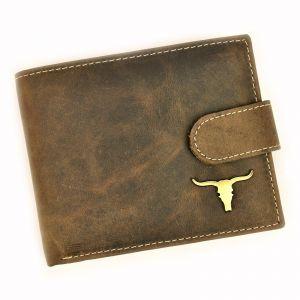 Pánská kožená peněženka Wild Buffalo Pedros – hnědá 19487
