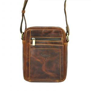 Pánská taška přes rameno Buffalo Wild Merro – hnědá 19485