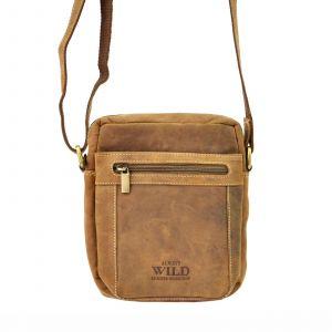 Pánská taška přes rameno Always Wild Freddy – hnědá 19484