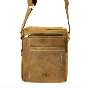 Pánská taška přes rameno Always Wild Frencis – hnědá 19483
