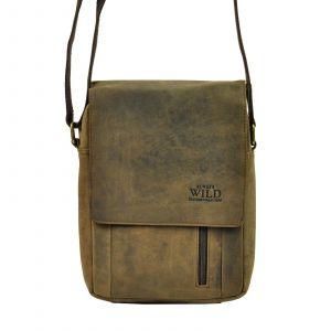 Pánská taška přes rameno Always Wild Janko – hnědá 19482