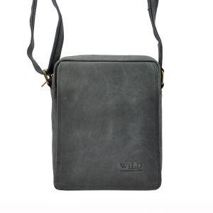 Pánská taška přes rameno Always Wild Oscar – černo-šedá 19480