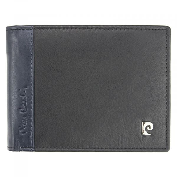 Pánská kožená peněženka Pierre Cardin Viléms – modro-černá 18548