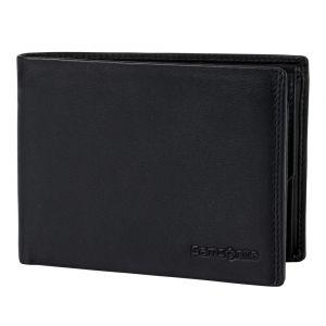 Samsonite Pánská kožená peněženka Success 2 007 RFID – černá p52095
