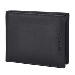 Samsonite Pánská kožená peněženka Success 2 015 RFID – černá p52098