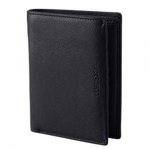 Samsonite Pánská kožená peněženka Success 2 122 RFID – černá p52109