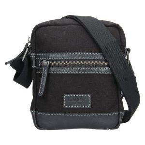 Pánská taška přes rameno Lagen Albert – černá 1316