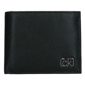 Pánská kožená peněženka Calvin Klein Brack – černá 19523