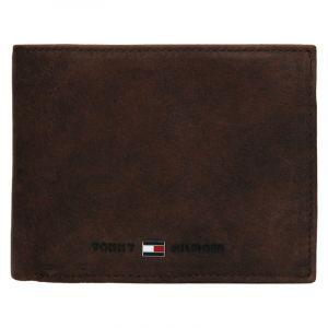 Pánská kožená peněženka Tommy Hilfiger Flap – hnědá 19519