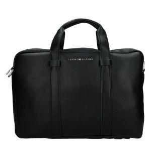 Pánská taška přes rameno Tommy Hilfiger Flat – černá 19517