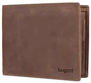 Bugatti Pánská peněženka Volo 49217802 Brown mbg0156