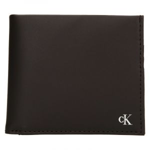 Pánská kožená peněženka Calvin Klein Bill – hnědá 19542