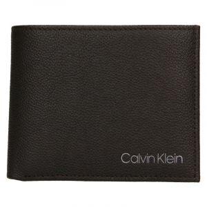 Pánská kožená peněženka Calvin Klein Bifold – hnědá 19539