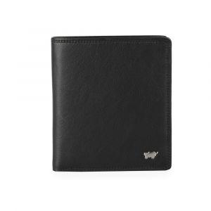 Braun Büffel Pánská kožená peněženka Golf 2.0 90441-051 – černá p42218