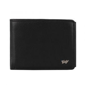 Braun Büffel Pánská kožená peněženka Golf 2.0 90335-051 – černá p44496