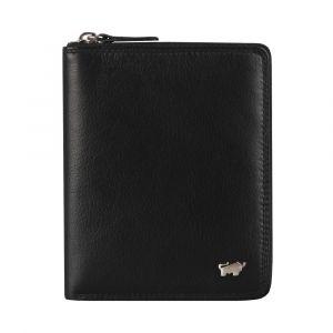 Braun Büffel Pánská kožená peněženka Golf 2.0 90452-051 – černá p44507
