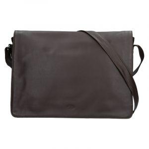 Pánská kožená taška přes rameno Katana Felipe – tmavě hnědá 19553