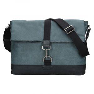Pánská taška přes rameno Hexagona Lines – modrá 17125