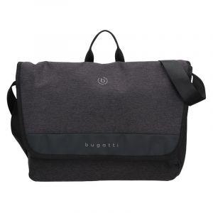 Pánska taška cez rameno Bugatti Braun – černo-šedá 17823