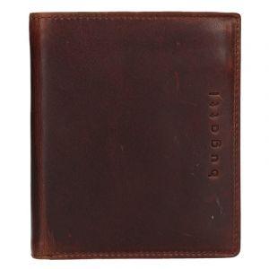 Pánská kožená peněženka Bugatti Merit – hnědá 16454