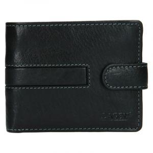 Pánská kožená peněženka Lagen Vander – černá 19616