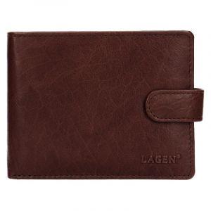 Pánská kožená peněženka Lagen Zdeno – hnědá 19615