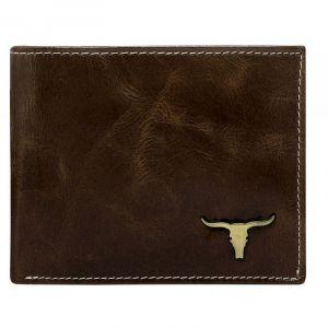 Pánská kožená peněženka Wild Buffalo Bohuš – hnědá 19778