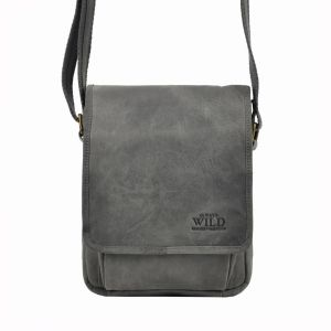 Pánská taška přes rameno Always Wild Fabio – černo-šedá 19776