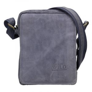 Pánská taška přes rameno Always Wild Ceasar – modrá 17624