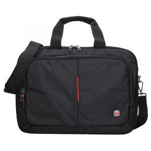 Pánská taška přes rameno Enrico Benetti Ulen – černá 13026
