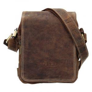 Pánská taška přes rameno Always Wild Marcel – hnědá 17627