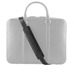 Kožený popruh na tašku John & Paul – černý p12568