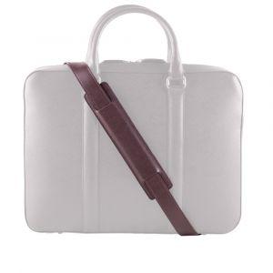 Kožený popruh na tašku John & Paul – tmavě hnědý p12570