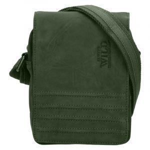 Pánská taška přes rameno Always Wild Robbe – šedo-černá 19842