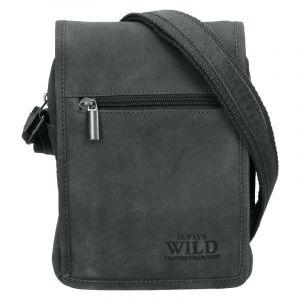Pánská taška přes rameno Always Wild Igor – šedá 19868