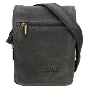 Pánská taška přes rameno Always Wild Vilden – šedá 19870
