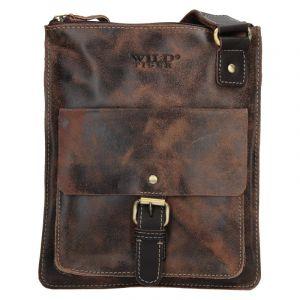 Pánská taška přes rameno Always Wild Wilson – hnědá 19871