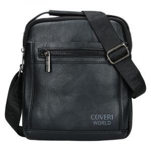 Pánská taška přes rameno Coveri World Albert – černá 19971