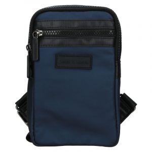 Pánská taška přes rameno Justin & Kelvin Cross – modrá 19968