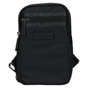 Pánská taška přes rameno Justin & Kelvin Cross – černá 19967