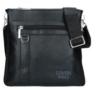 Pánská taška přes rameno Coveri World Tom – černá 19979