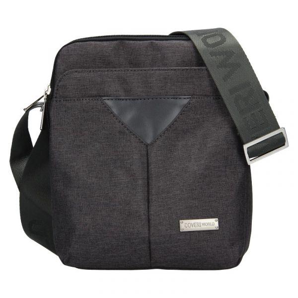 Pánská taška přes rameno Coveri World Edvin – šedá 19975