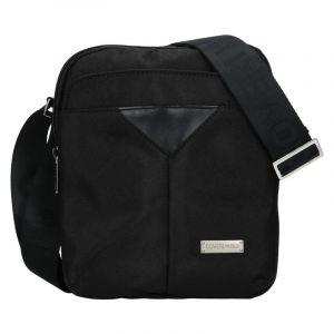 Pánská taška přes rameno Coveri World Edvin – černá 19974