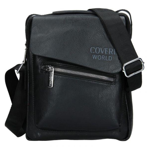 Pánská taška přes rameno Coveri World Denis – černá 19973