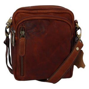 Přírodní koňaková pánská kožená taška na doklady – Tomas Svemir koňak 256448