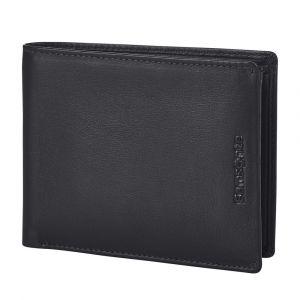 Samsonite Pánská kožená peněženka Success 2 015 RFID – tmavě hnědá p52097