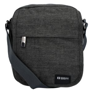 Sportovní crossbody taška na doklady tmavě šedá – Enrico Benetti šedá 257270