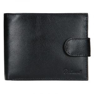 Pánská kožená peněženka Diviley Loris – černá 15256